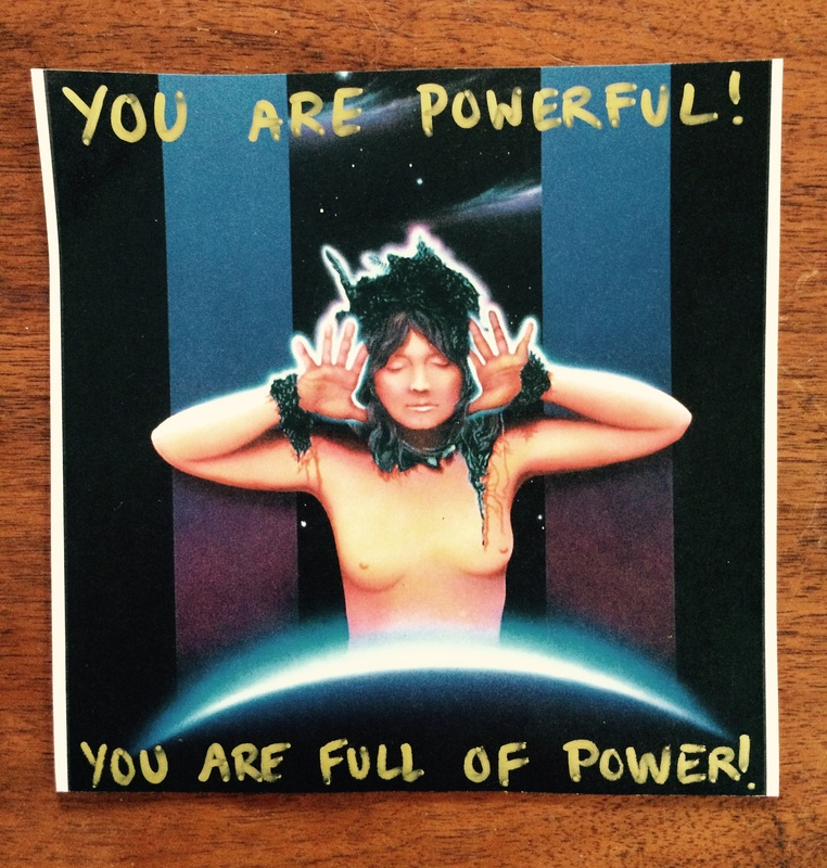 You are powerful!