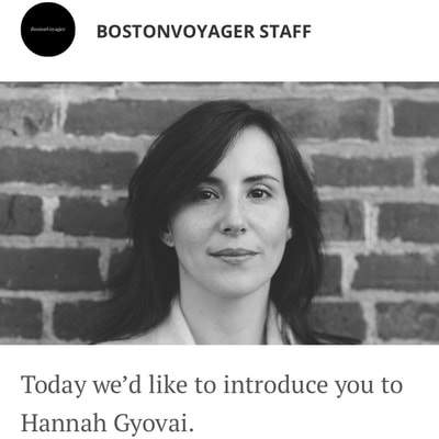 BostonVoyager Magazine Interview with Grace Ceremonies | Rev. Hannah Grace, Ordained Interfaith Minister, Wedding Officiant, Celebrant, Reiki Master, Certified Psychosynthesis Practitioner