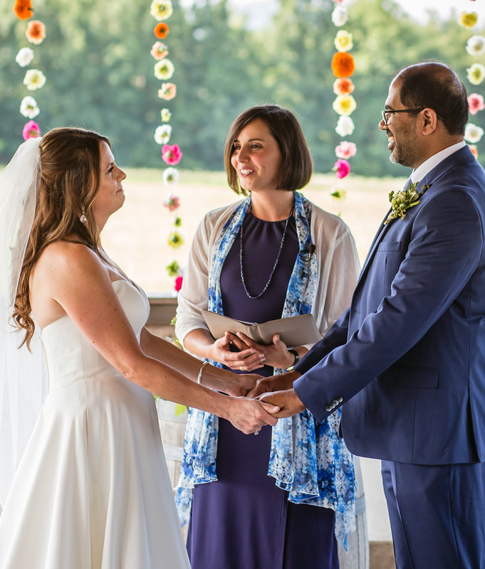 Grace Ceremonies | Wedding Officiant | Wedding Ceremony | Interfaith Minister | Valley View Farm